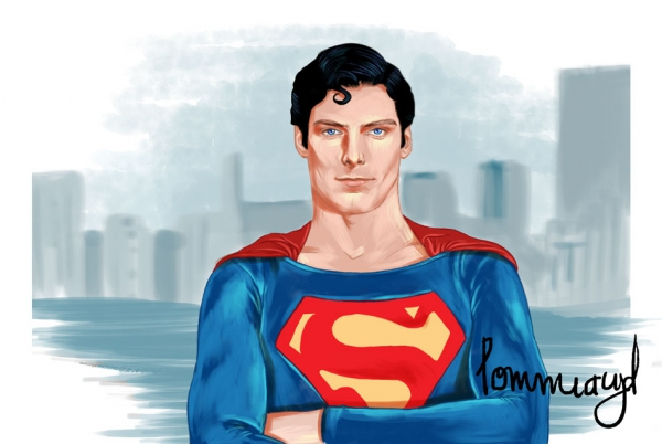 Superman par Pommeacyd